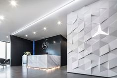 pbm designed the new offices of car manufacturer Mercedes-Benz, located in Bangkok, Thailand.