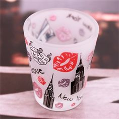 New York Kiss Shot Glass