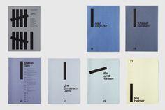 Каталоги - Студия Клаус Due / Студия графического дизайна / Копенгаген, Дания