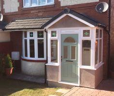 Timeless enclosed porch design visit this site Porch Designs Uk, House Porch Design, Front Porch Design, Porch Uk, House Front Porch, Porch Roof, Front Porches, Porch Extension, Veranda Design