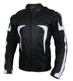 Men Black Motorcycle Leather Jacket with White Stripe Panels - Biker Leather Jackets for Men - Motorrad Motorcycle Leather, Biker Leather, Leather Men, Black Leather, Motorcycle Helmets, Motorcycle Jacket, Long Leather Coat, Leather Jacket With Hood, Best Leather Jackets
