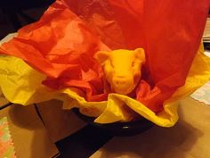 """Bible activity for golden calf. Kids make calf out of play-dough, then smash it or break it apart and put it in the """"fire"""" just as Moses did. Bible Fun For Kids: Moses and the 10 Commandments"""