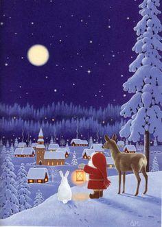 """Winter Magic Time"" - by Eva Melhuish"