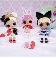 2pcs LOL Surprise Doll Pets Series Cherry Ham Color Changing  /& Trouble Squeaker