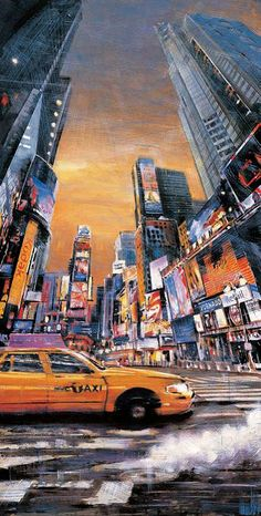 Times Square Perspective I - Matthew Daniels