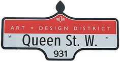Toronto's Top 10 : Shopping Destinations Custom Street Signs, Eaton Centre, Queen Street West, Glass Store, Dried Shrimp, Vintage Luggage, Second Hand Clothes, Luxury Shop, Beach Holiday