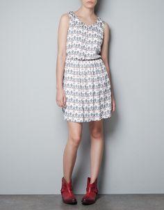 ROBOTS DRESS - Dresses - TRF - ZARA Spain