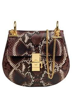 Chloe Bags 2015 | Chloe Fall / Winter 2014 Bag Collection featuring Python and Leopard