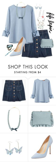 """Hue are my Sunshine"" by krgood7 ❤ liked on Polyvore featuring Madewell, United Bamboo, La Hormiga, Sole Society, Schutz and Natasha"