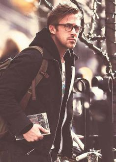 Ryan Gosling.... and he's a animal's rights activist too!!