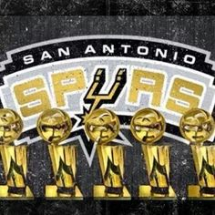 Spurs 5-Time NBA Champions
