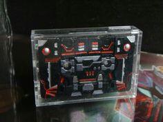 Carnage #custom #transformers #decepticon cassette mode #customtransformer #g1 #creative #designer