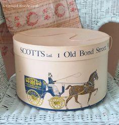 Scoots Ltd Old Bond Street Hat box