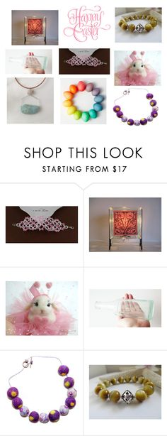 """""""collezione Pasqua"""" by acasaconmanu ❤ liked on Polyvore featuring GE"""