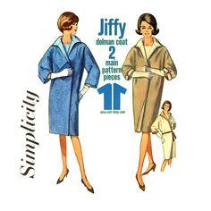 1960s Clutch Coat Pattern Simplicity 5888 Bust 31 by CynicalGirl, $14.00 Jiffy Jiffy!!