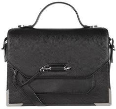 Jori-S4 Medium Black Crossbody Bag