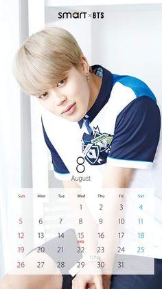 ☆彡 smart x Bts Calendar, Kpop Logos, Kpop Backgrounds, Bts 2018, I Love Bts, Jikook, Bts Jimin, Bts Wallpaper, Pretty Boys