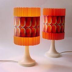 retro vintage lamps!!