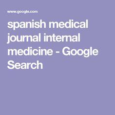 spanish medical journal internal medicine - Google Search
