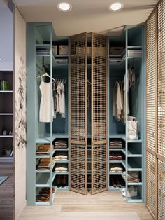 Trendy apartment walk in closet organization diy home Ideas Best Closet Organization, Closet Storage, Organization Ideas, Garage Storage, Bathroom Organization, Diy Storage, Storage Ideas, Storage Organizers, Wardrobe Storage