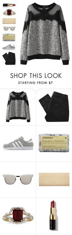 """""""how ya doin'?"""" by ouchm4rvel ❤ liked on Polyvore featuring Marc by Marc Jacobs, adidas Originals, Korres, Westward Leaning, Miss Selfridge, BillyTheTree and Bobbi Brown Cosmetics"""