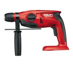 Complete all your drilling works easier by choosing this Hilti Lithium-Ion SDS Plus Cordless Rotary Hammer Drill TE A Tool Body. Cordless Drill Reviews, Cordless Hammer Drill, Hilti Power Tools, Batterie Rechargeable, Speed Drills, Sds Plus, Milwaukee Tools, Electrical Tools, Electronic Recycling