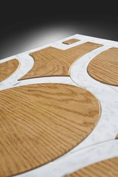 In this line, #oak #wood is combined with other #materials such as #marble, #stone, #ceramics, #metal and recomposed #quartz. With these images we would like just to give an idea of technical and #aesthetics feasibility, being aware that possible solutions are unlimited.#madeinitaly #home #interior #design #parquet #flooring #inserts