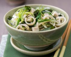 This #recipe for the #Kitsune Udon #Noodles is an easy way to prepare #Japanese comfort food. This instant noodle bowl along with the taste of #dashi and the warm noodles makes for a traditional Japanese delicacy!