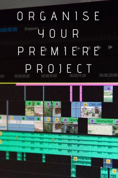 Discover how to declutter the editing process and spend less time chasing offline media. Here you'll learn how to organise your premiere project Neat And Tidy, Declutter, Filmmaking, Adobe, Organization, Templates, Learning, Projects, Movie Theater