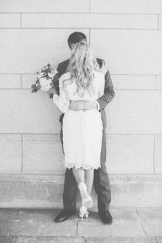 Fresh Modern LDS Wedding from Lora Grady