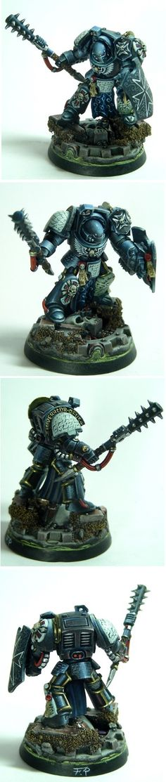 black templar champion terminator