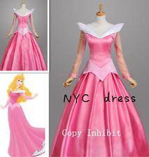 Sleeping Beauty/Princess Aurora Pink ladies fancy dress outfit costume UK 12/M