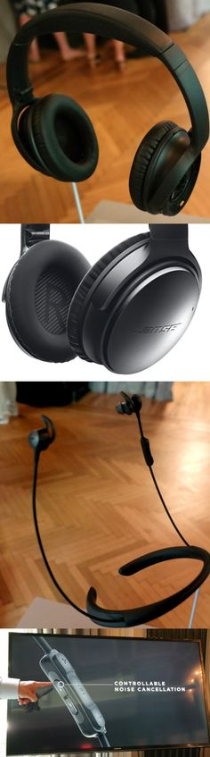 The new Bose QuietComfort 35 noise-cancelling on-ear headset has a key feature its predecessors didn't: a Bluetooth wireless adapter. The $350 unit detects noise via mics inside and outside the earcups, offers voice prompts and supports NFC (near-field communication), which means users can link it with a smartphone with a tap. The $300 QuietControl 30 wireless in-ear headset, available this fall, supports NFC and users can adjust the noise-cancellation level. CLICK THE PIC #Pin200…