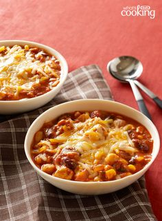 Slow-Cooker Chunky Chicken Chili #recipe