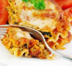 Chicken and vegetable lasagne | Healthy Food Guide