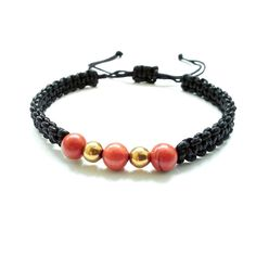 Herren Armband Shamballa Perlen Schmuck Jaspis Hämatit Stein Geschenk Männer