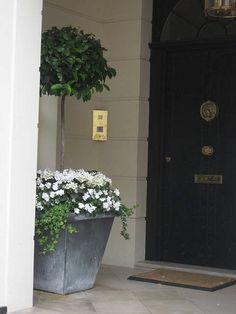 Front Door Display by Howard Sanderson Gardening, via Flickr