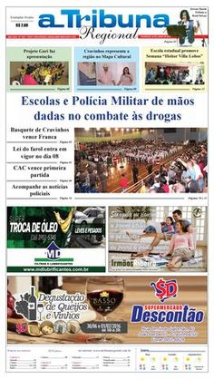 jornal A Tribuna Regional de Cravinhos