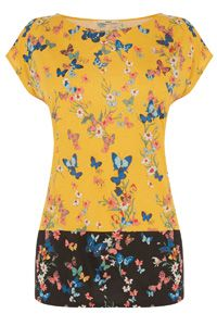 d12a689f7 Butterfly Printed T-Shirt Butterfly Print