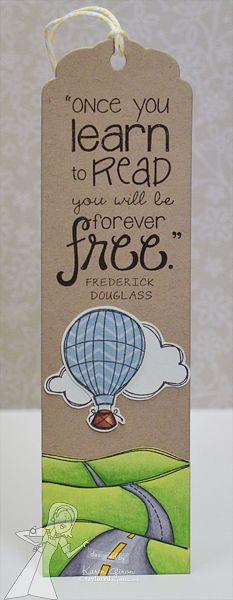 Bookmark by Karen Giron #Bookmarks, #GiftGiving