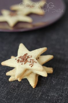 Cooking With Siri: A trip to Goa and {Recipe} Basic Vanilla Cookie Dough + Cut-Out (Star) Cookies