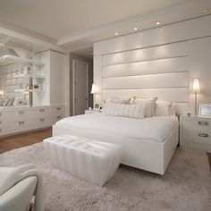 Inspiração de quarto all clean pra vc sonhar amamos e vcs?? Via um insta que eu amo @imaginevoceaqui  #somosconteudo_  #grupojsmais  DECOREDECOR | BEDROOM | CLEAN