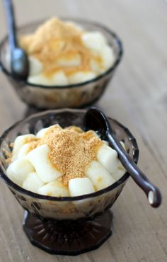 ■タピオカ粉でミルク餅♡   Onaka Ponpon . Kitchen