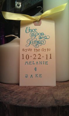 Different save the date idea