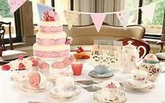 vintage tea party accessories - Bing Images