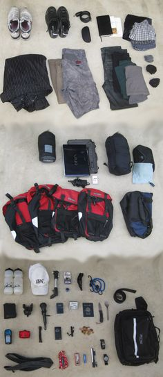 THE FOLLOWING IS A LIST OF ITEMS I USED UNTIL THE VERY END OF MY BIKE TOUR: