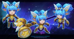 ArtStation - Star Guardian Poppy, Cody Bunt                                                                                                                                                                                 Mais