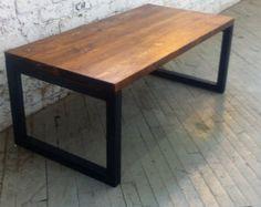 Mesa de centro de madera reciclada - Lentini diseño