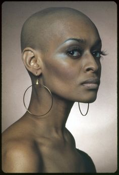 Model Pat Evans set the trend for bald and beautiful black heads when she went against industry standards, and at a frustrated turning point, decided to take a razor to her head and go without hair.