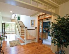 A center hall layout is traditional to Lancaster County farmhouses. Photo by Eric Forberger of Lancaster County Magazine.